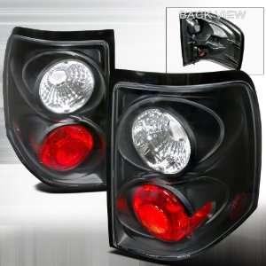 2002 2004 Ford Explorer Altezza Tail Light Black