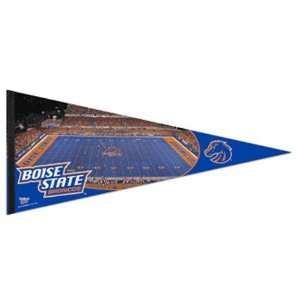 NCAA Boise State Broncos Royal Blue 17 x 40 Stadium