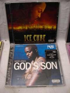 ICE CUBE SNOOP DOGG NS RAP CD LOT