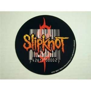 Slipknot Barcode Logo Vinyl Decal 4.5
