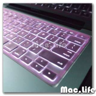 TP PINK Silicone Keyboard Cover Skin for Macbook Pro 13