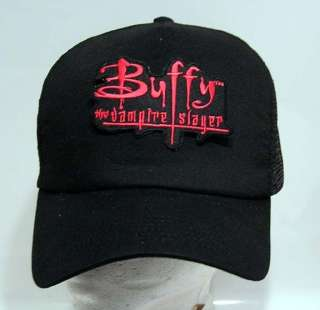 BUFFY the Vampire Slayer Logo Baseball Cap/Hat w Patch