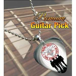 Bon Jovi Circle 2011 Tour Premium Guitar Pick Necklace