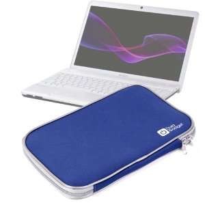 High Quality Durable Blue Zip Carry Case For Sony Vaio
