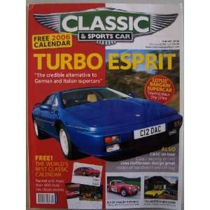 Car, January 2006, Vol. 24 No. 10 (Lotus Esprit Turbo, Jensen Healey