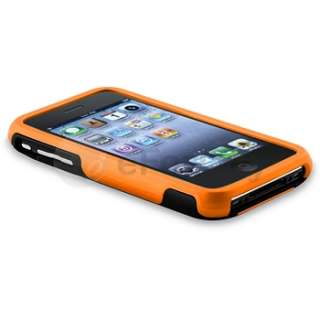 PIECE HYBRID RUBBER HARD CASE COVER FOR APPLE IPHONE 3G 3GS 3 USA