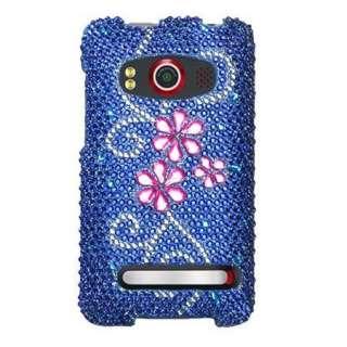 JUICY Rhinestone DIAMOND Bling Case 4 Sprint HTC EVO 4G