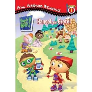 Hansel and Gretel (Super WHY) [Paperback] Samantha Brooke Books
