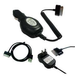 SKQUE Samsung Galaxy Tab 7.0 Car/Wall Charger/ USB Cable