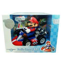 Super Mario Brothers 18 Scale Remote Control Mario Kart Toy