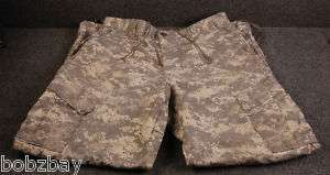 Fox Apparel ACU Pants Trouser Army Combat Uniform Mens Med CAMO