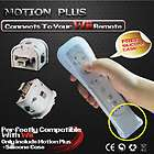 MotionPlus Motion Plus For Nintendo Wii Remote controller + Free