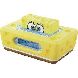 NCR3020 SB Clock it Spongebob Squarepants Alarm Clock