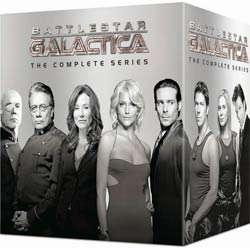 Battlestar Galactica   The Complete Series (DVD)
