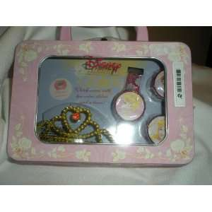 Disney Princess Cinderella Watch set in Tin Everything