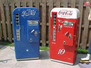 PEPSI Machine Coca Cola PROFESSIONALLY DONE Coke C my listings