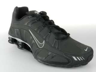 NIKE SHOX TURBO 3.2 SL 455541 002 NEW Mens Black Silver Running Shoes