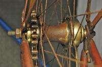 Rambler Junior Roadster Cruiser bicycle 28 wooden rims red bike