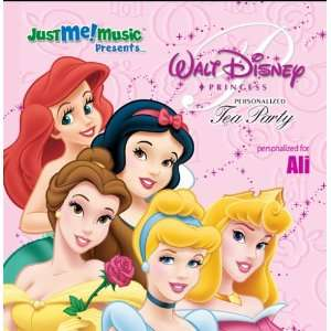 Disney Princess Tea Party Ali Music