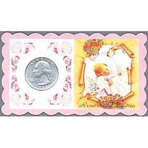 com 100 Baptisma Remembrances in English   Baby Girl Office Products