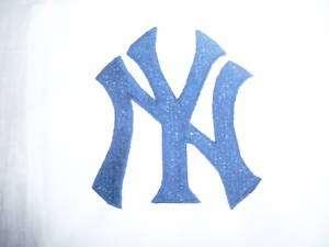 NEW YORK YANKEES WHITE BASEBALL STANDARD PILLOWCASE