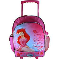 Disney Little Mermaid Toddler Rolling Backpack  Overstock