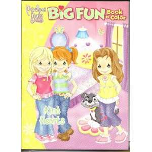 Precious Girls Club Kind Hearts [Big Fun Book to Color