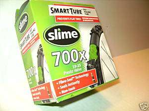 Slime bicycle bike tube 700x23 self sealing SeeVideo