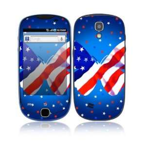 Patriotic Butterfly Decorative Skin Cover Decal Sticker