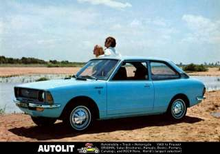 1971 Toyota Corolla 1200 Coupe Factory Photo