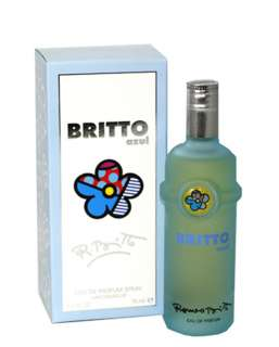 New BRITTO AZUL Perfume Women EDP SPRAY 2.5 oz / 75 mL