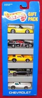 Hot Wheels 5 Car Chevrolet Gift Pack 12403 Corvette
