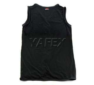 zipper V neck Undershirt Tank Top Vest T shirt Singlet 3Size+2col