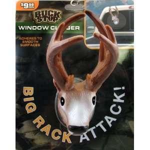 Head 3 Dimensional Window Clinger Big Rack Attack Everything Else