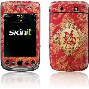 Red Chinese character Blessing skin for BlackBerry Torch