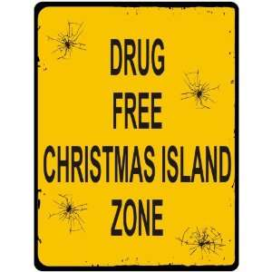 New  Drug Free / Christmas Island Zone  Christmas Island