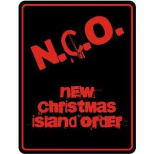 New  New Christmas Island Order  Christmas Island Parking Sign