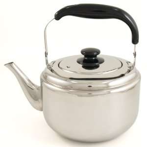 Huge Stainless Steel Kettle Teapot 5 Liter with Lid
