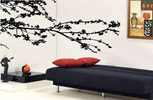 Tree Top Branches Flower Home Wall Mural Decoration Art Vinyl Decal