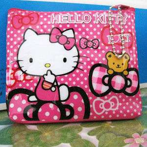 hello kitty Girl Coin Bag Children Purse Cute Box cool