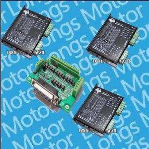 Axis Stepper motor driver PEAK 7.8 A,256 micsteps CNC