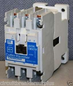 Cutler Hammer CN35DN2 2 Pole 30 Amp Lighting Contactor