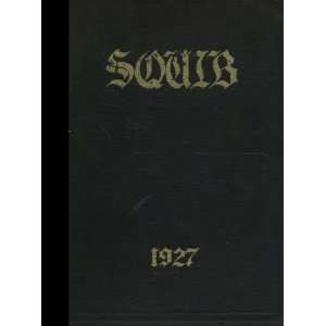 Reprint) 1927 Yearbook Shelbyville High School, Shelbyville, Indiana