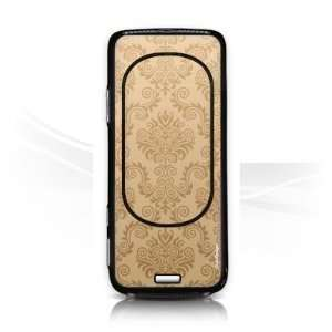 Design Skins for Nokia N73   Brown Pattern Design Folie