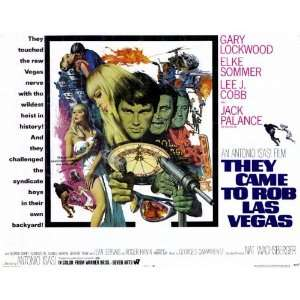 They Came to Rob Las Vegas Movie Poster (11 x 14 Inches   28cm x 36cm