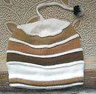 Stripped Alpaca WOOL BEANIE Hat,Light,Soft&Warm B80