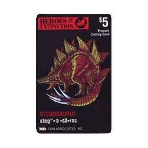 Heros of Extinction Promo Card: Stegosaurus Dinosaur: Everything Else