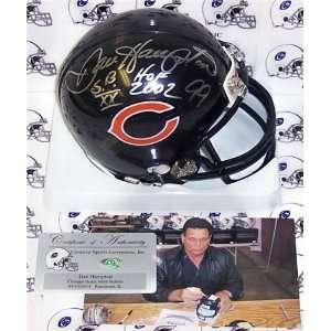 Hampton Autographed/Hand Signed Bears Mini Helmet