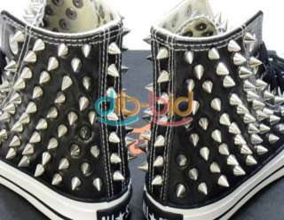 Cone Screwback Spikes Stud Punk Bracelet Leather Bag Cloth Shoe
