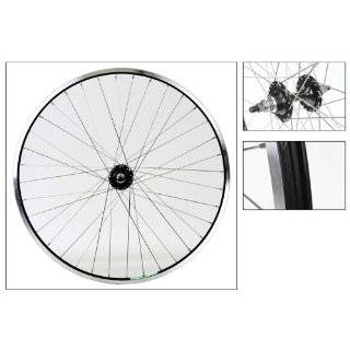 Mach1 EXE Rear Wheel   700c, 36H, QR, 8 Speed, MSW, Black/Black/Silver